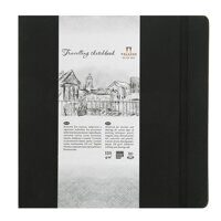 "Блокнот для эскизов ""Travelling sketchbook"" 14*14 см, 80 листов, 130 г/м, Лилия Холдинг"